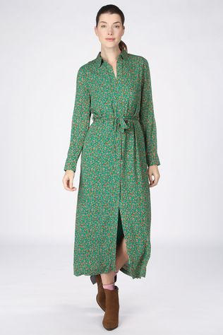 Another-Label Robe Adeleide Animal Vert/08