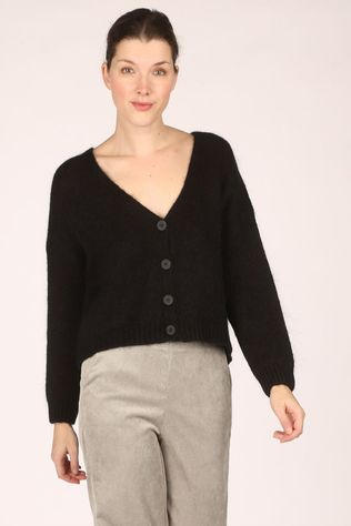 Black Rose Cardigan Xelo Zwart