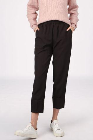 Co'Couture Pantalon Obi Noir