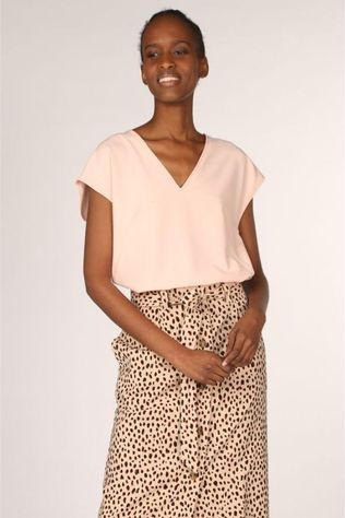 Dame Blanche Blouse Godiva 221 Rose Clair