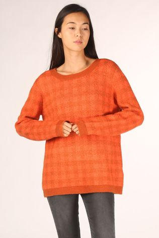 Lily Balou Pull Milan Rouille/Orange
