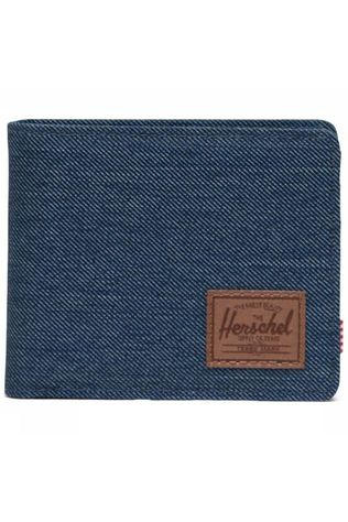 Herschel Supply Portefeuille Roy Coin Indigo Blauw/Middenbruin