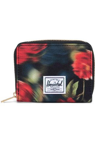 Herschel Supply Portefeuille Tyler Zwart/Middenrood