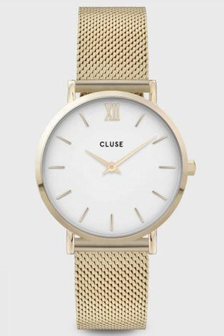 Cluse Montre Minuit Mesh Or