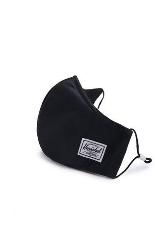 Herschel Supply Masque Classic Fitted Face Mask Noir