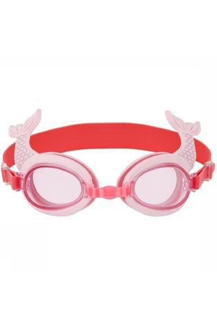 Sunnylife Speelgoed Shaped Swimming Goggles 3-P Mermaid Middenroze