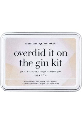Men's Society Gadget Overdid It On The Gin Kit Argent/Noir