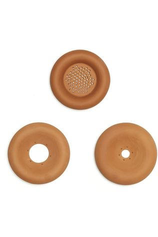 Kikkerland Gadget Terracotta Seed Sprouters Geen kleur / Transparant