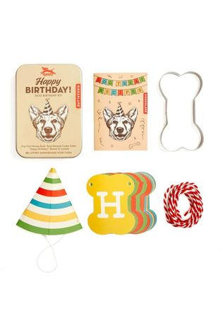 Kikkerland Jouets Dog Birthday Kit Assorti / Mixte