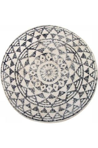 HK Living Tapis Round Bath Mat 120 Cm Pas de couleur / Transparent