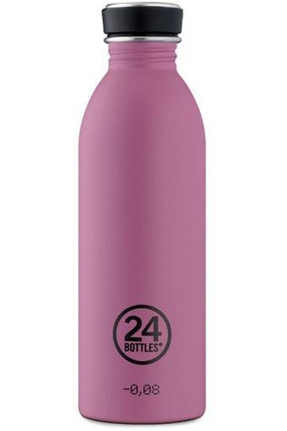 24Bottles Gourde Urban Bottle 500ml Rose Foncé