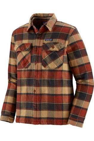 Patagonia Chemise Insulated Fjord Rouille/Brun Foncé