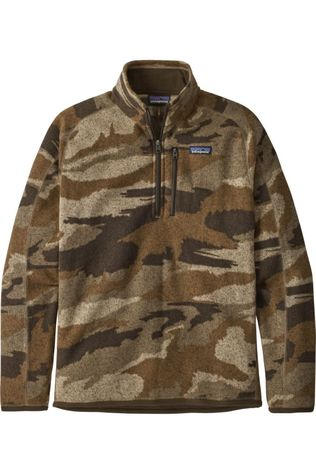 Patagonia Polaire M'S Better Sw 1/4-Zip Brun Moyen/Ass. Camouflage