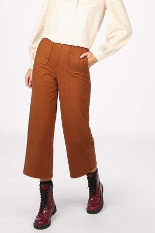 FRNCH Broek Pearline Middenbruin