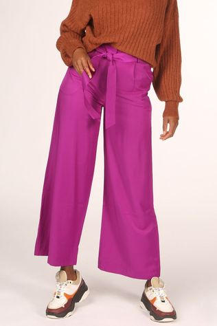 FRNCH Pantalon Parvedy Pourpre