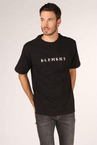 Element T-Shirt Metz Zwart