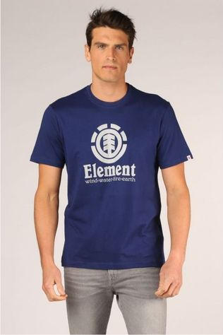Element T-Shirt Vertical Ss Donkerblauw
