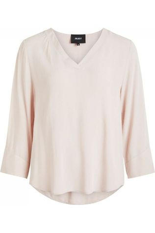 Object Blouse Bay 3/4 Noos Rose Clair