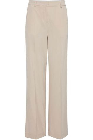 B.Young Pantalon Byo Danta Wide Leg Brun Sable