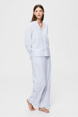 Selected Pyjama billie Pj Set Bleu Clair