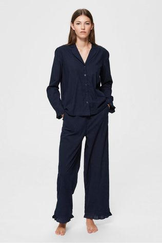 Selected Pyjama billie Pj Set Bleu Marin