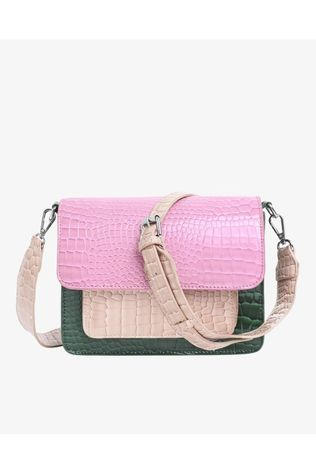 Hvisk Sac Cayman Pocket Multi Blanc Cassé/Rose Moyen