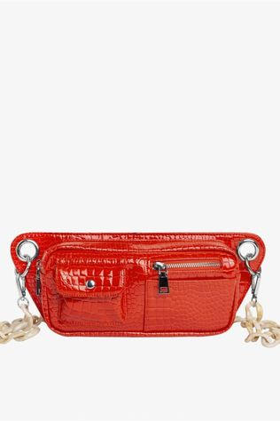Hvisk Sac Brillay Croco Rouge Moyen/Orange