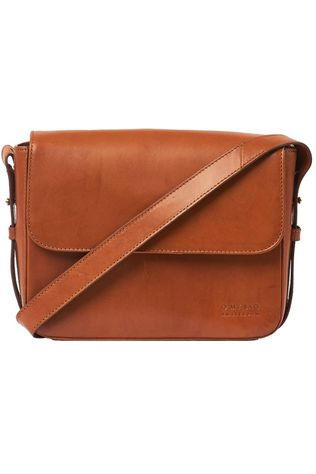 O My Bag Tas Gina Cognac Classic Leather Kameelbruin