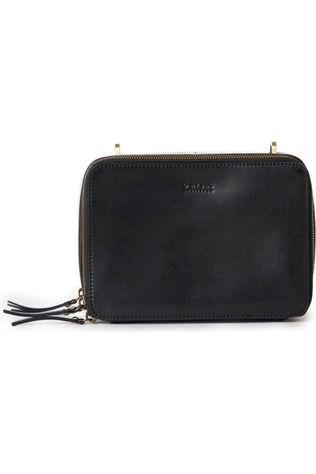 O My Bag Tas Bee'S Box Classic Black Zwart