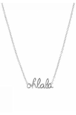 All The Luck In The World Ketting Urban Ohlala Zilver