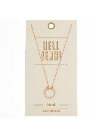 Timi Ketting Small Circle Goud