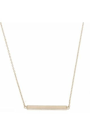 Timi Collier Single Bar Argent