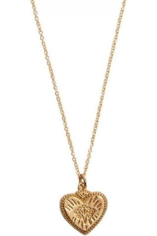 All The Luck In The World Ketting Charm Burst Hart Goud