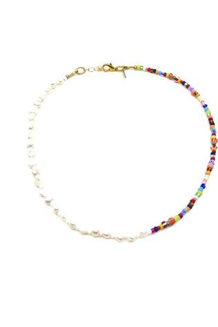 Mimarse Ketting Louise Wit/Assorti / Gemengd