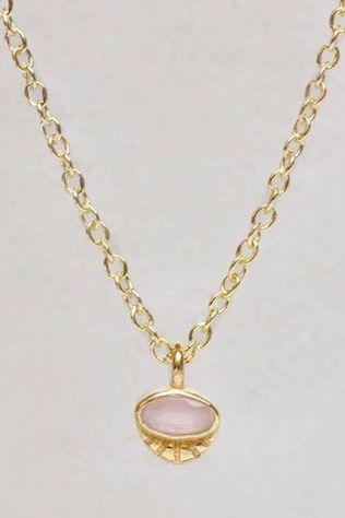 Muja Juma Collier H Or/Rose Clair