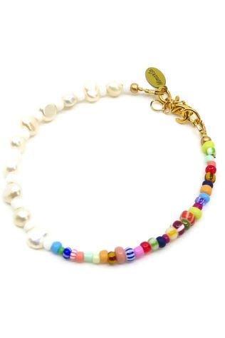Mimarse Armband Louise Wit/Assorti / Gemengd