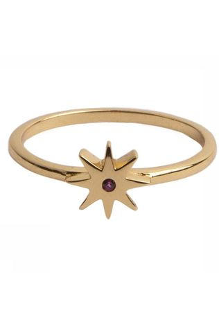 All The Luck In The World Ring Magique Star Pink Goud