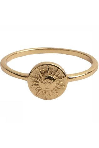 All The Luck In The World Ring Magique Coin Sun Goud