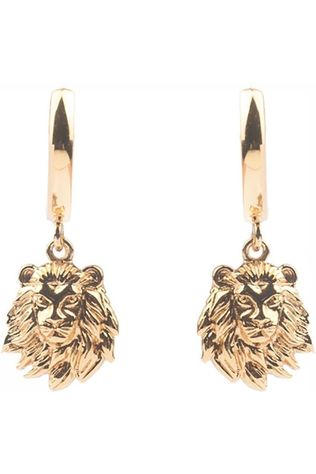 All The Luck In The World Boucle D'Oreille Souvenir Lion Or