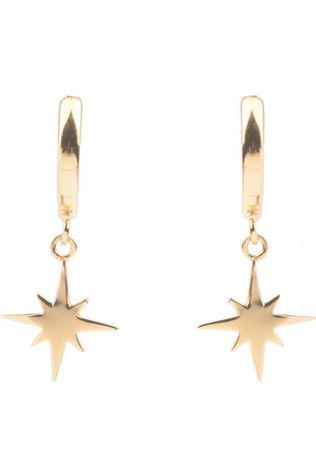 All The Luck In The World Boucle D'Oreille Star Burst Or