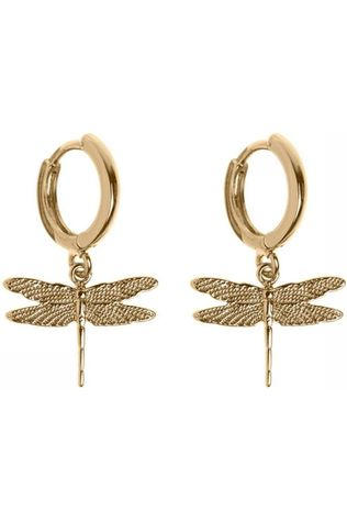 Timi Boucle D'Oreille Dragonfly Small Hoop Or