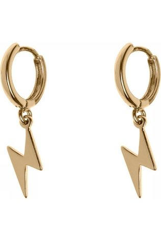 Timi Boucle D'Oreille Lightning Small Hoop Or