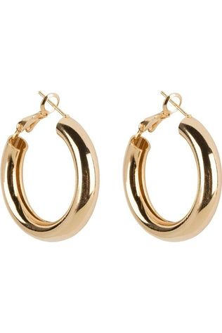 Club Manhattan Boucle D'Oreille Coco Hoops Small Or