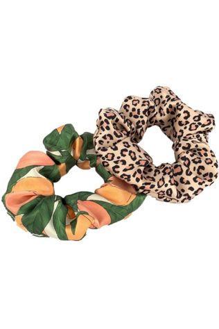 Wouf Haaraccessoires Hair Srunchie Pack Pink Savannah & Peach Lichtroze/Oranje