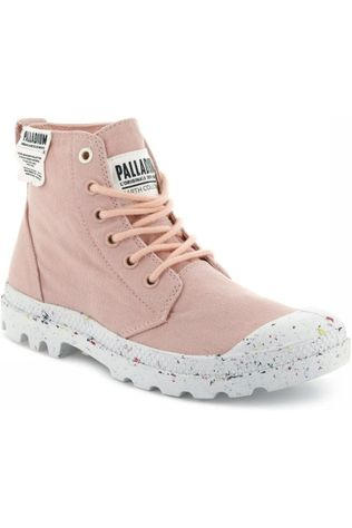 Palladium Bottine Pampa Hi Organic Rose Clair