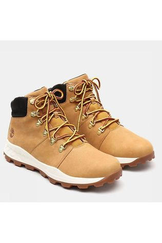 Timberland Bottine Brooklyn Hiker Donkergeel
