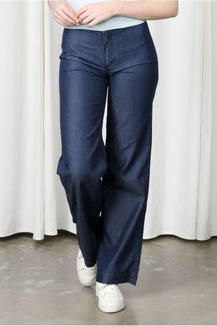 Wearable Stories Jeans Cara Donkerblauw
