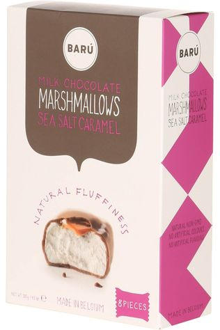 Baru Nourriture Marshmallows Milk Chocolate with Sea Salt Caramel Pas de couleur / Transparent