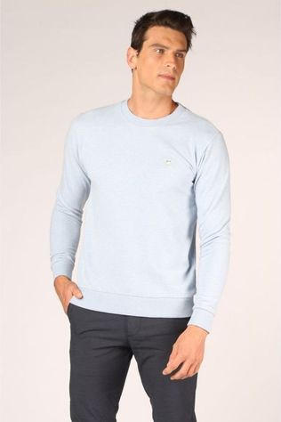 Knowledge Cotton Apparel Pull 30163 Bleu Clair