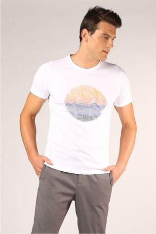 Knowledge Cotton Apparel T-Shirt 10555 Blanc